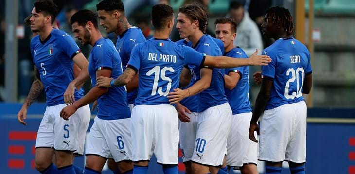 Under-21 European Qualifiers. Party in Castel di Sangro as Italy start on the right foot
