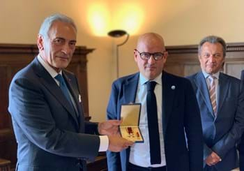 "Gravina awarded with honours in San Marino: ""I am bound to you by a triple bond of friendship"""