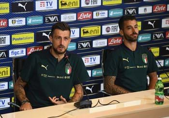 "Building up to Italy vs. Greece. The excitement of Acerbi and Spinazzola: ""Happy to be playing in Rome, it should be a celebration"""