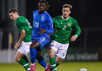 Nazionale Under 21-- European qualifiers, Italy draw away at leaders Ireland