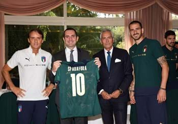 "Minister Spadafora meets this Azzurri: ""This team is creating hope for Italian football"""