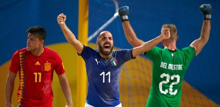 World Beach Games: l'Italia vola in semifinale, battuta la Spagna