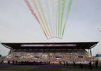 Italy submit their application to host the Women's Champions League final at the 'Juventus Stadium' in 2022 or 2023