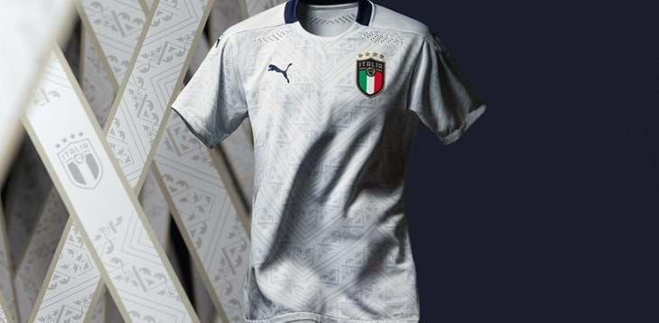 """PUMA Football releases the Italian National Team's new away kit - """"Crafted from Culture"""""""