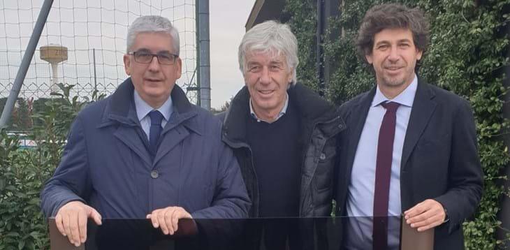 """Intitolata a 'Favini' la nuova Accademia dell'Atalanta. Albertini: """"Mino, punto di riferimento per i giovani"""""""