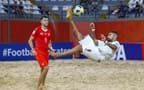 FIFA Beach Soccer World Cup: Italy come from behind to beat Switzerland 5-4. The Azzurri are into the semi-final