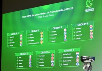 The draws for the elite phases of the Under-19 and Under-17 European Championships take place