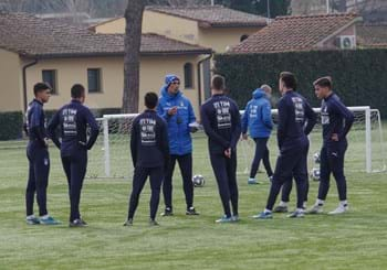 A three-day camp for 23 youngsters at Coverciano under the guidance of Bollini and Corradi