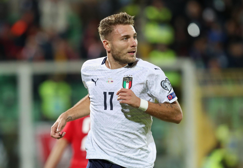 Maglia Ufficiale Italia Immobile Nazionale Federazione FIGC  Ciro 17