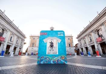 100 days until the start of the European Championship, what a party in Campidoglio!