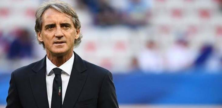 "Mancini: ""The National Team is a symbol of a country that never gives up"""