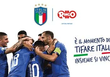 Ringo take to the pitch with the FIGC: they will be the Italian National Football Team's 'Official Partner' for the two-year period 2020-2021