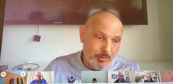 Master allenatori: lezione in streaming del tecnico del Bologna, Sinisa Mihajlovic