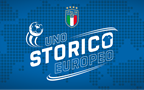 The National Team ready to take to the pitch for 'Uno Storico Europeo'