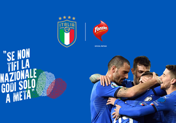 Fonzies becomes an Official Partner of the Italian National Teams for the three-year period 2020-2022