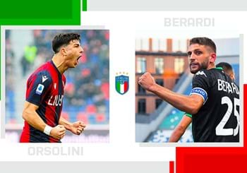 The statistical head-to-head of Serie A matchday 31: Riccardo Orsolini vs. Domenico Berardi