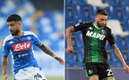 The statistical head-to-head of Serie A matchday 36: Lorenzo Insigne and Domenico Berardi
