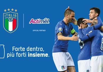 Danone becomes an Official Partner of the Italian National Team for 2020-2022
