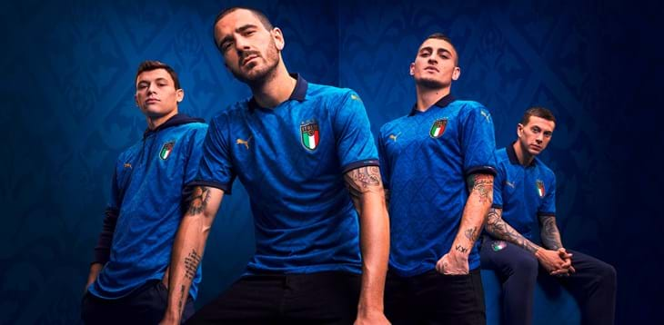 PUMA present the new Italy Home kit, inspired by Renaissance culture