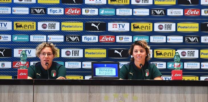 "Linari and Giacinti already thinking about Bosnia: ""We want to honour the Italy shirt"""