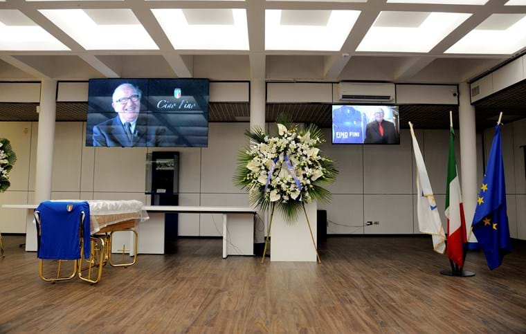 A final farewell to Doctor Fini: FIGC President Gabriele Gravina pays his respects