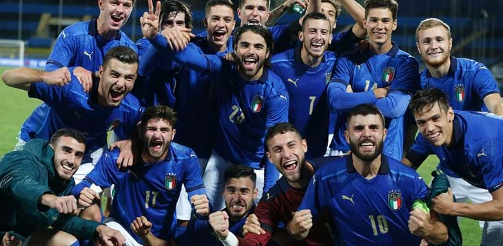 Italy fly with Sottil and Cutrone: Azzurrini beat Ireland, Euros one step closer