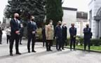 Italy - Netherlands: At the Monumental Cemetery of Bergamo, respects are paid to the victims of the pandemic
