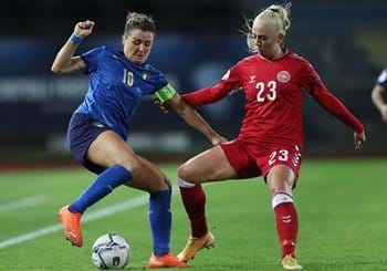 Azzurre, points needed in Denmark. Draw may be enough