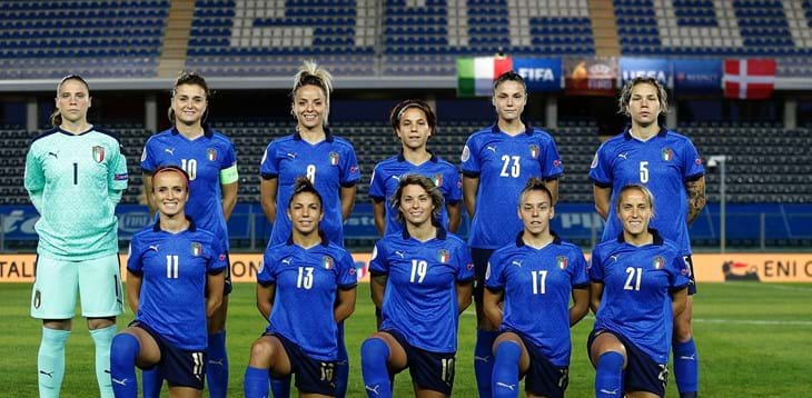 Italy up to 13th in the FIFA World Rankings USA lead followed by Germany and France