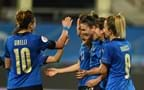 "Italy run riot against Israel to secure automatic qualification to Euro 2022. Gravina: ""Extraordinary, Azzurre"""