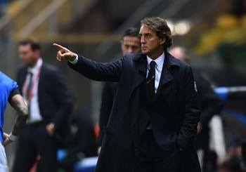 "Mancini: ""Perfect first half"". Bonucci: ""Spirit can take us far"""