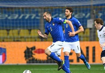 Azzurri fly to Sofia for tomorrow's game against Bulgaria: Chiellini, Berardi and Caputo out