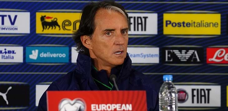 """Mancini: """"Every match is difficult, but we are here to win"""""""