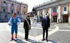 The UEFA Euro 2020 Trophy Tour begins in Rome
