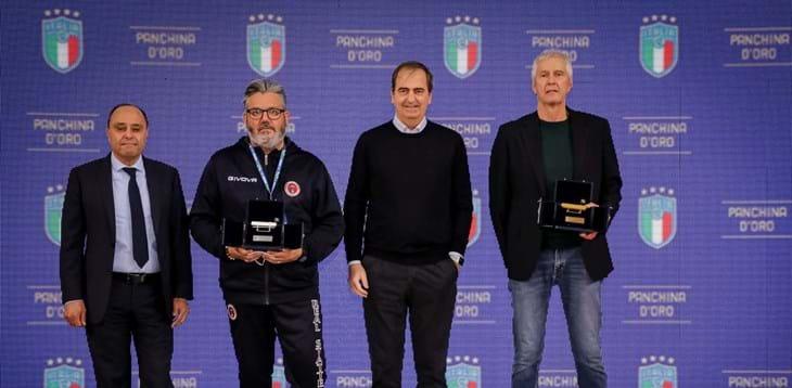 Panchina d'oro, i colleghi incoronano Colini e Marzella: sono loro i migliori allenatori del futsal italiano
