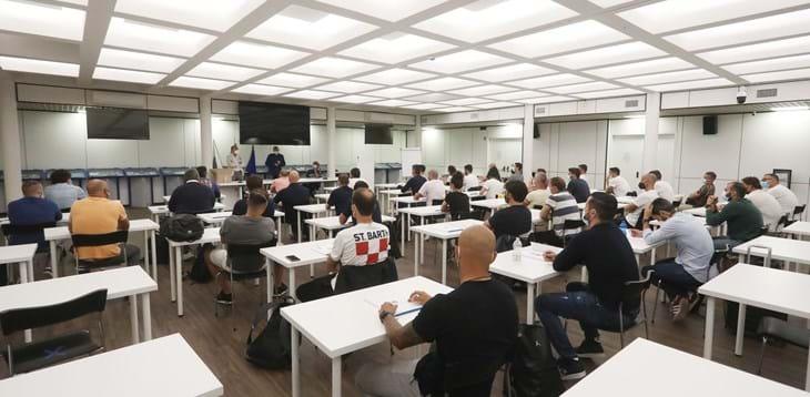 Inaugurato nella sala conferenze del Museo del Calcio il nuovo corso allenatori Uefa A