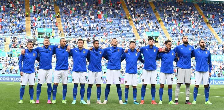 World Cup Qualifiers: 12 November, Italy vs Switzerland at the Stadio Olimpico, Rome