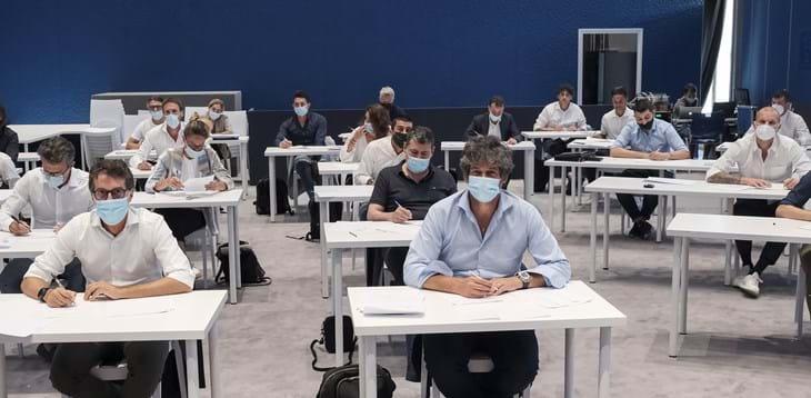 Corso per Direttore Sportivo: esami scritti e discussione delle tesi a Coverciano