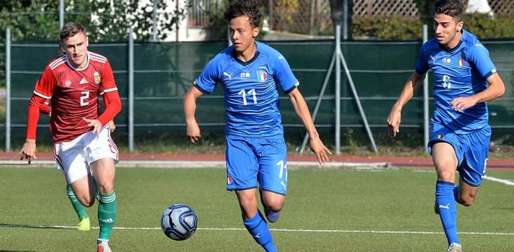 Goals from Portanova and Riccardi are not enough, Hungary celebrates in Recanati