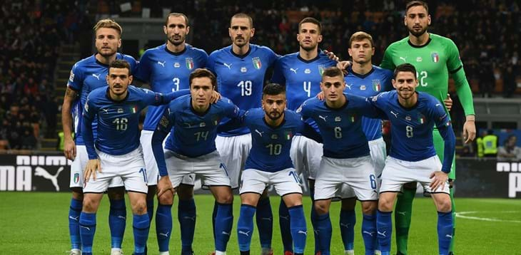 Road to EURO 2020: four friendlies for Mancini's Azzurri in spring