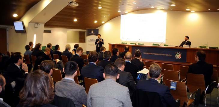 Rome: Two days of discussion on the topics of safety in stadiums and the management of footballing events