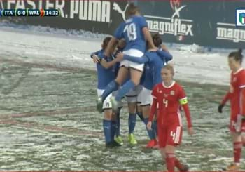 Highlights ITALIA-GALLES Femminile 22-01-2019