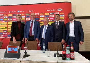 "Austria press conference in Klagenfurt : ""We're ready to surprise teams"""