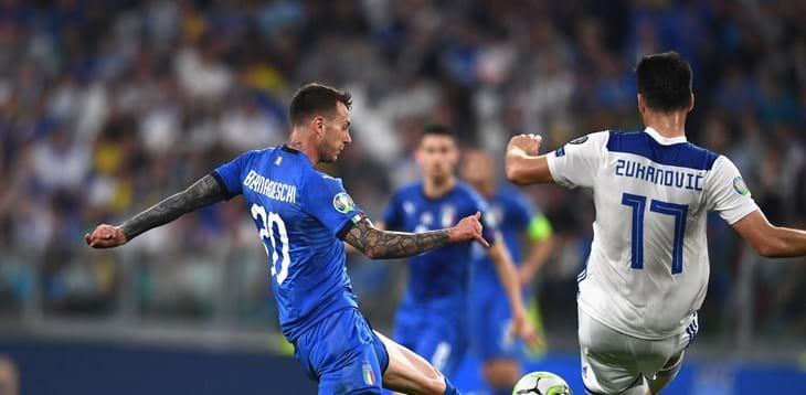 European Qualifiers, Italy come from behind to beat Bosnia and Herzegovina