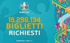Euro 2020- Over 19 million ticket applications made, beating the record of France 2016