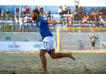 Euro Beach Soccer League: Italy beat France 6-3 to make Superfinal