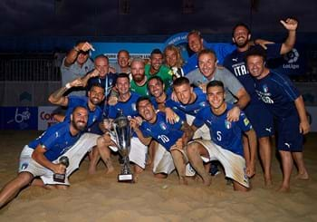 Euro Beach Soccer League: Italy beat Belarus and top group in Catania