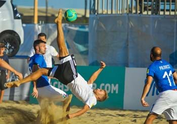Nazionale Beach Soccer Italia-Germania