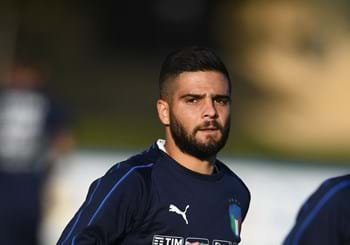 Insigne also drops out. Second training session this afternoon in Casteldebole