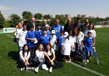 "Meeting with disabled children in Yerevan Gravina: ""A very important moment"""